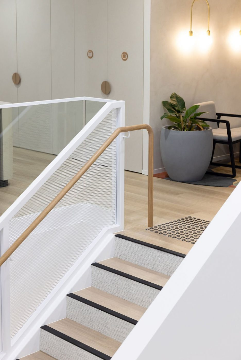 Architectural Staircase | Ramsay Health Care | Active Metal 07
