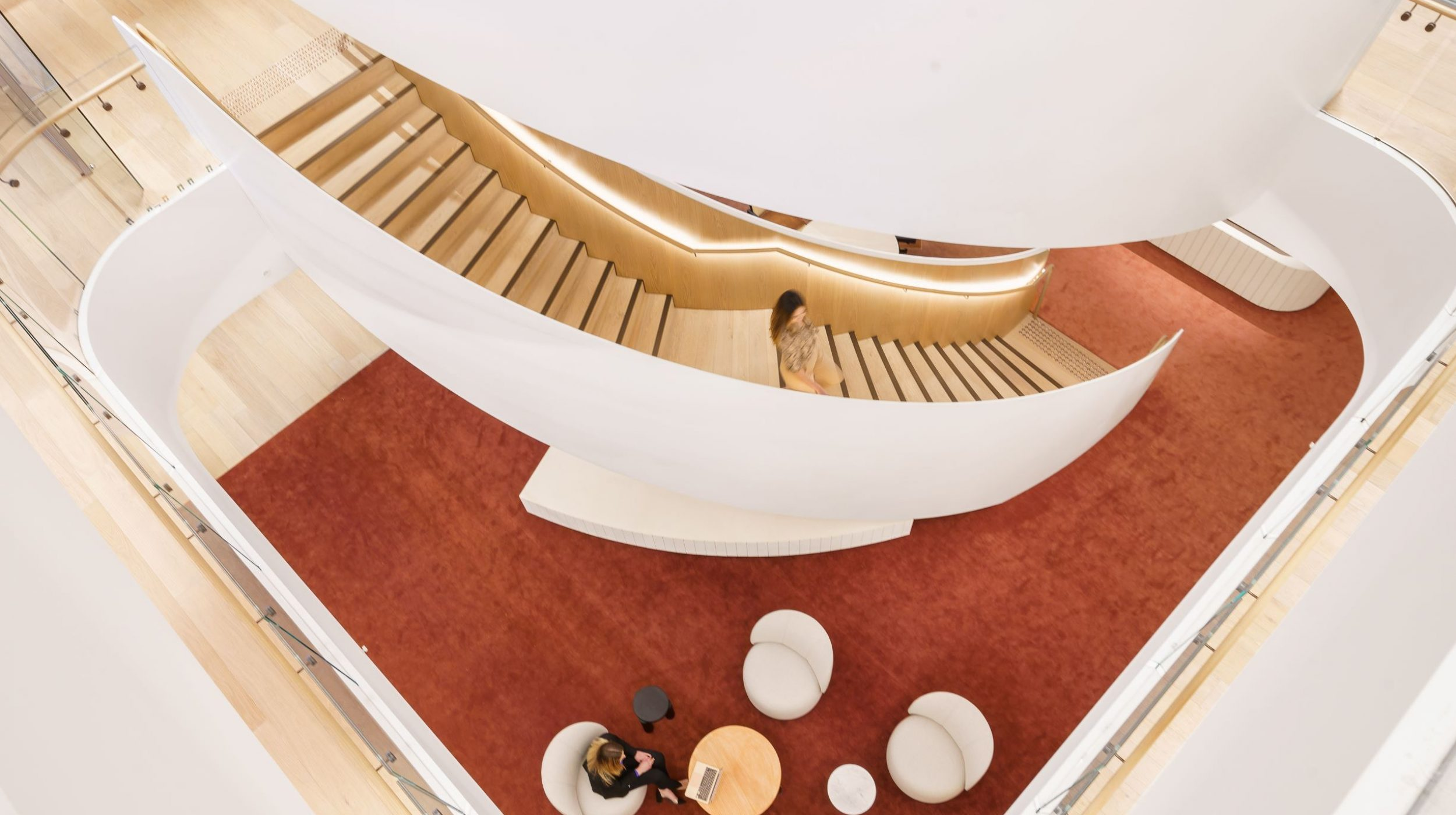 Curved Staircase   Ashurst Melbourne   Active Metal 02