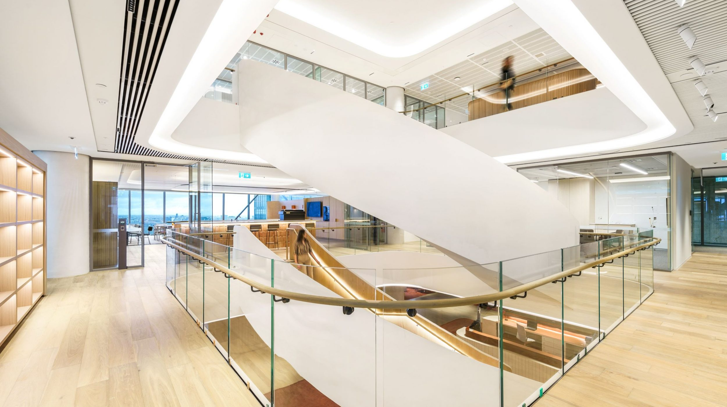 Curved Staircase   Ashurst Melbourne   Active Metal 01