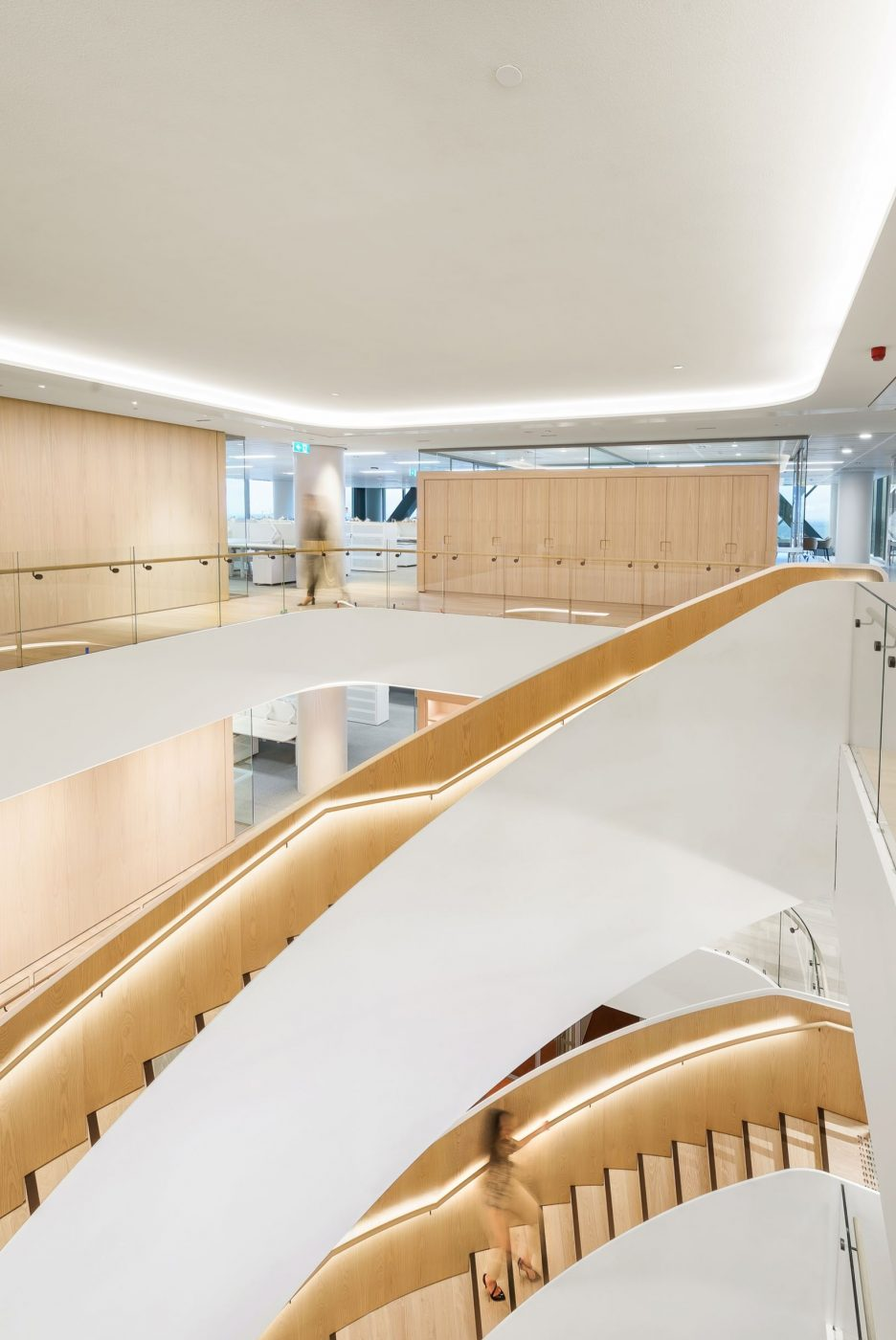 Curved Staircase   Ashurst Melbourne   Active Metal 04
