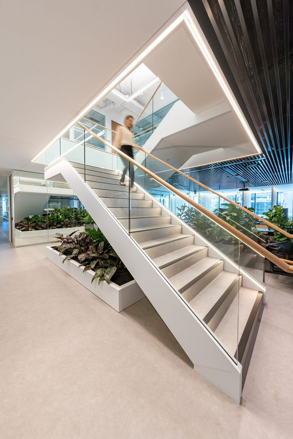 Feature Staircase | Active Metal | Hub Wynyard Sydney 03
