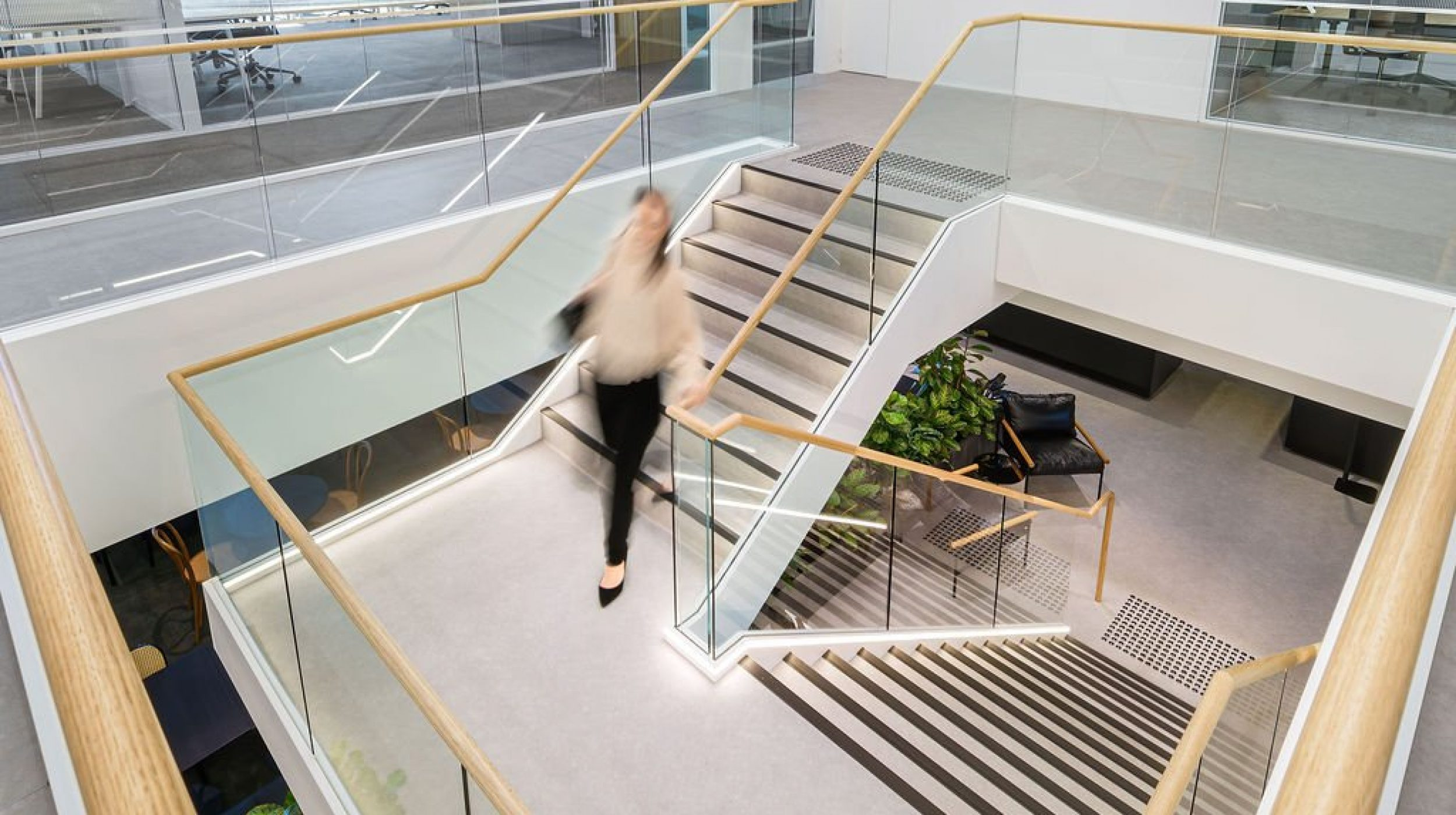 Feature Staircase | Active Metal | Hub Wynyard Sydney 06