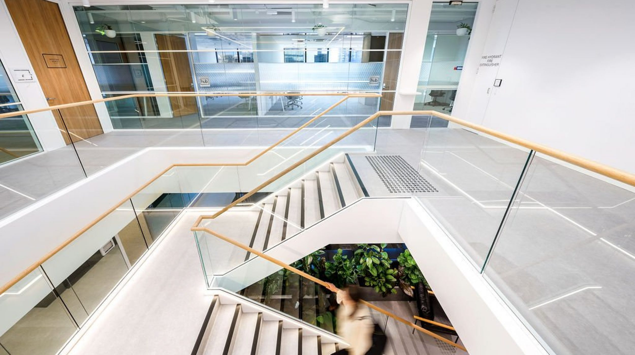 Feature Staircase | Active Metal | Hub Wynyard Sydney 02