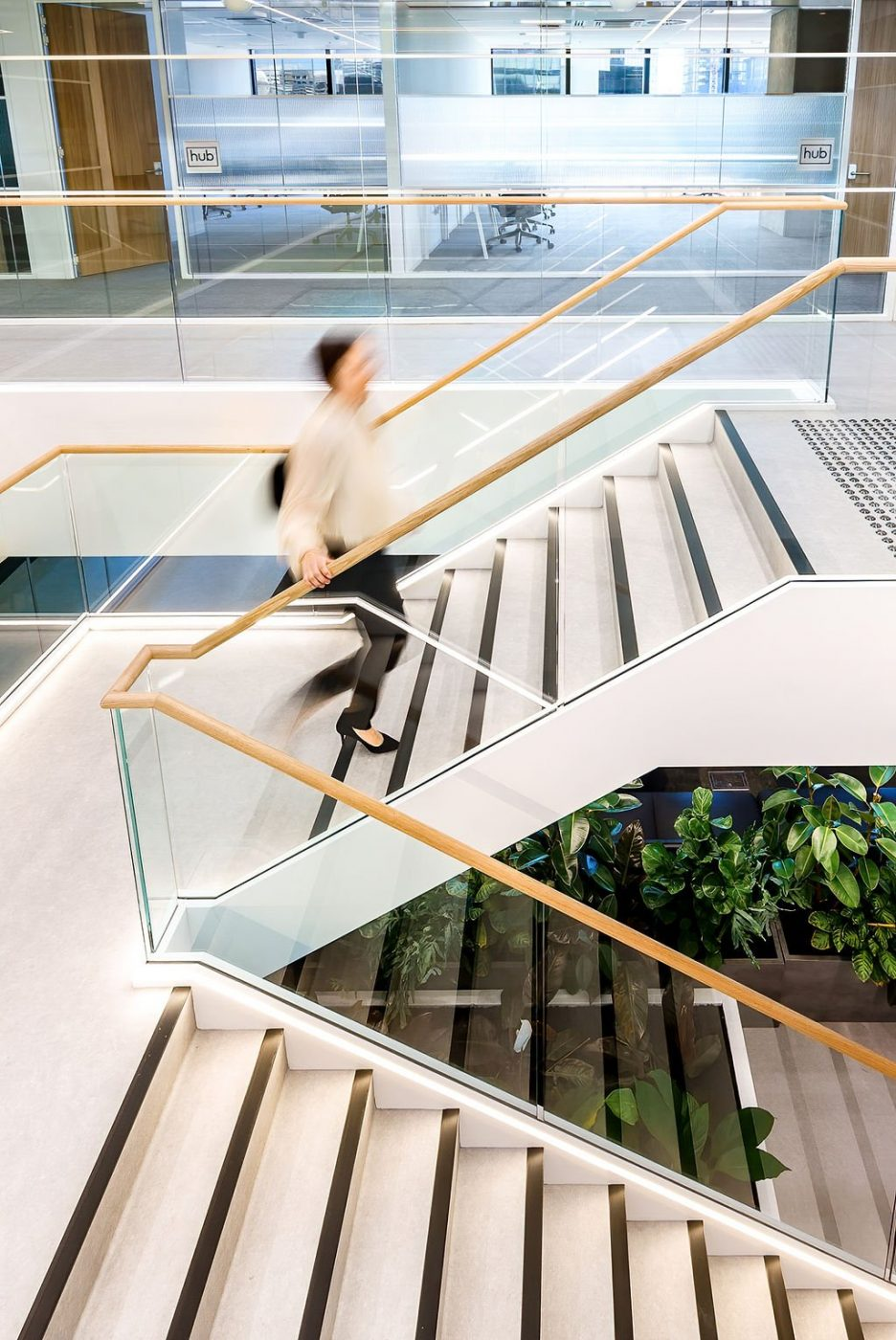 Feature Staircase | Active Metal | Hub Wynyard Sydney 05