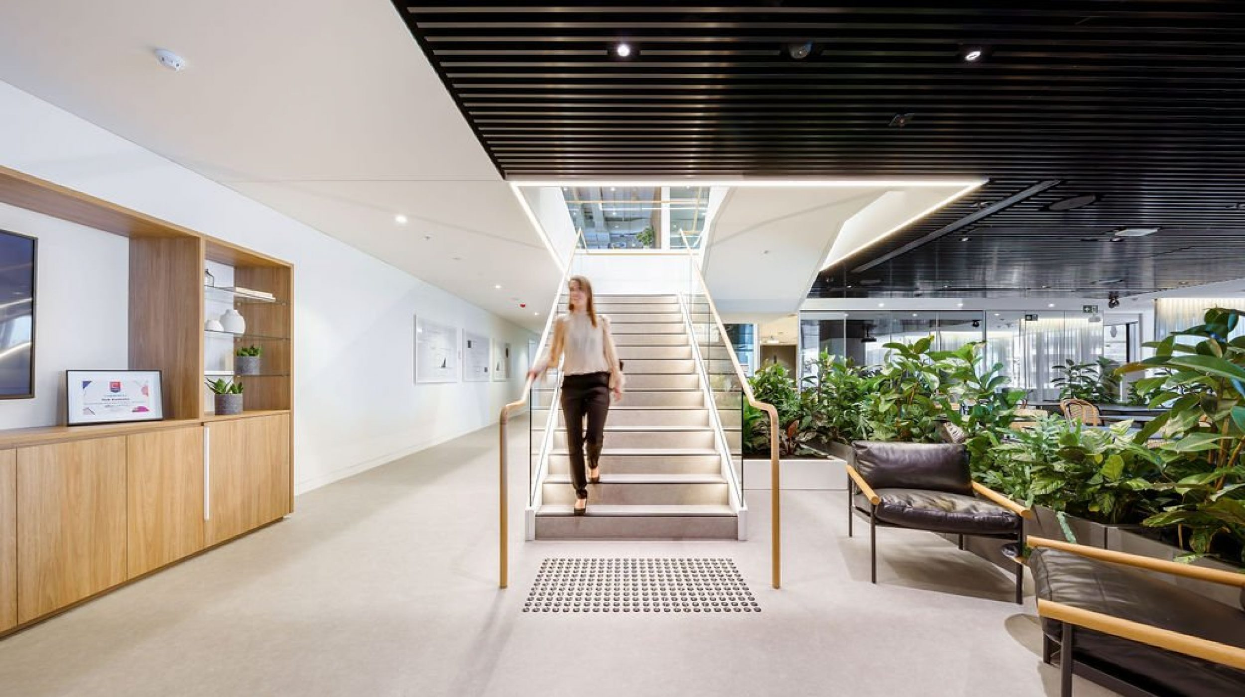 Feature Staircase | Active Metal | Hub Wynyard Sydney 00