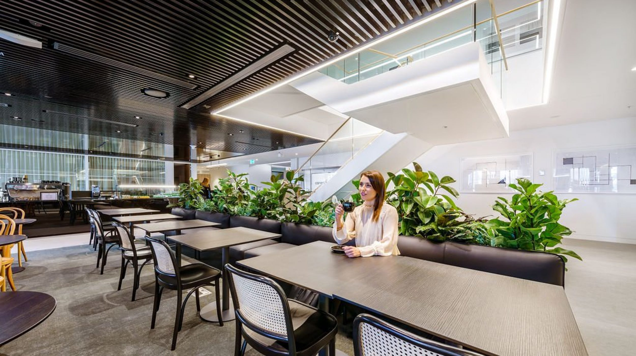 Feature Staircase | Active Metal | Hub Wynyard Sydney 01