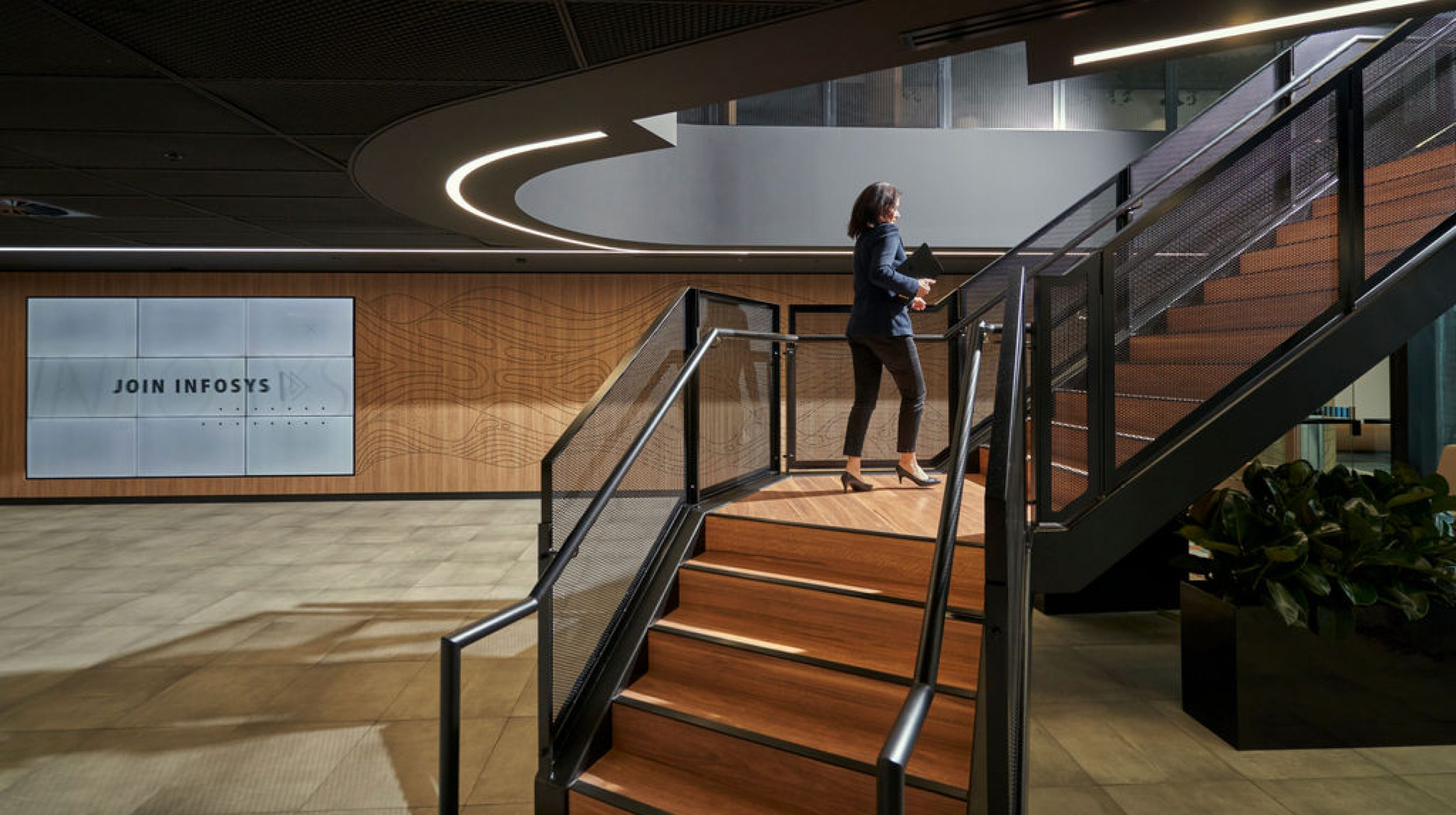 Infosys Melbourne | Active Metal | Steel Staircases 05