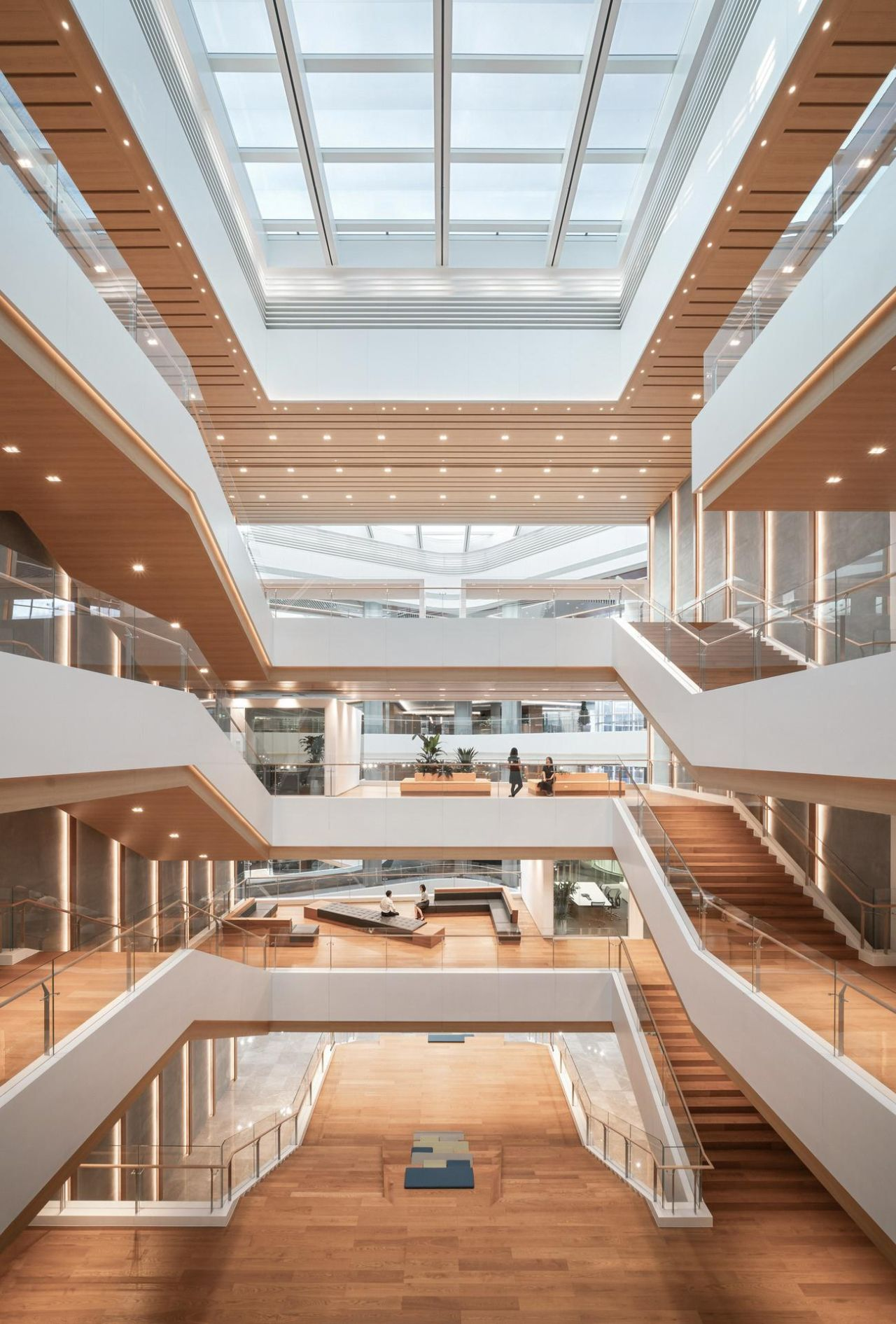 Tencent Beijing - Architectural Stairs