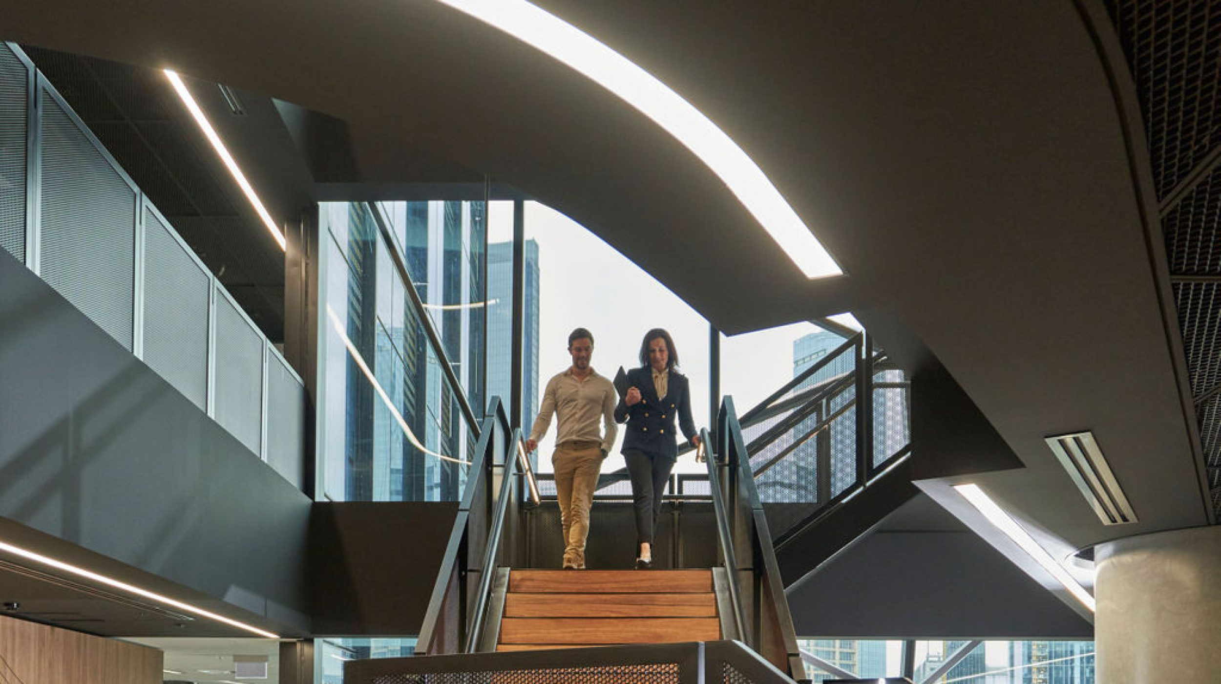 Infosys Melbourne | Active Metal | Steel Staircases 03