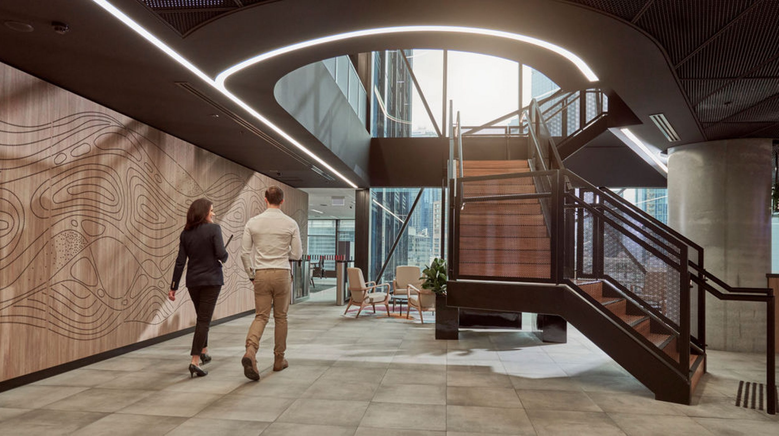 Infosys Melbourne | Active Metal | Steel Staircases 01